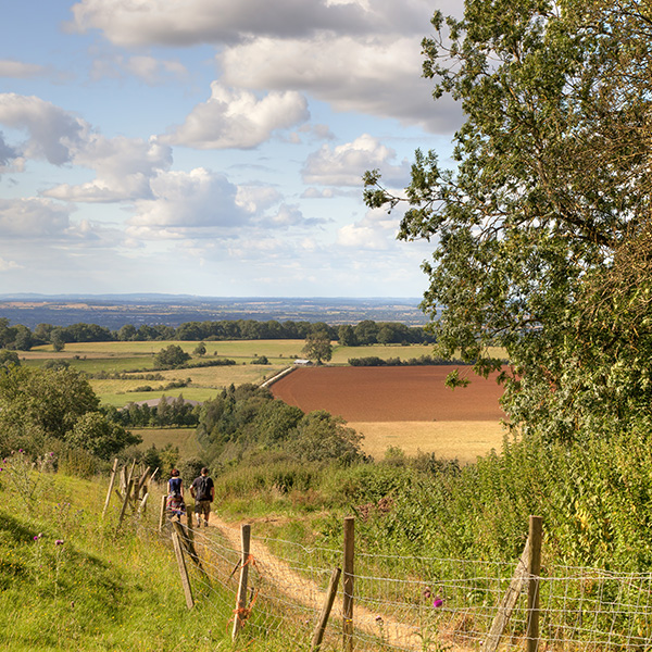 Exploring the cotswolds on foot